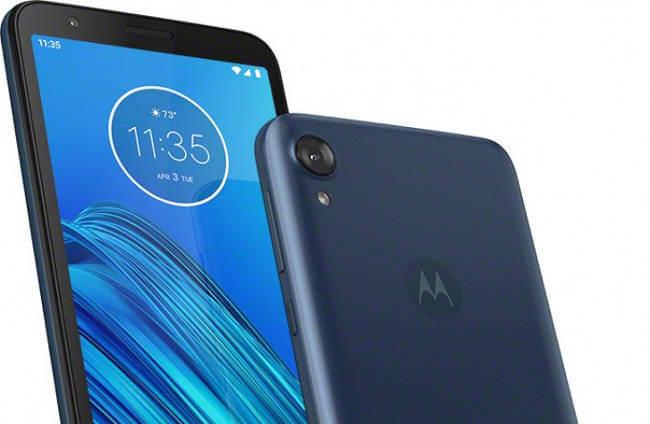 Представлен Motorola Moto E6: странный фрукт