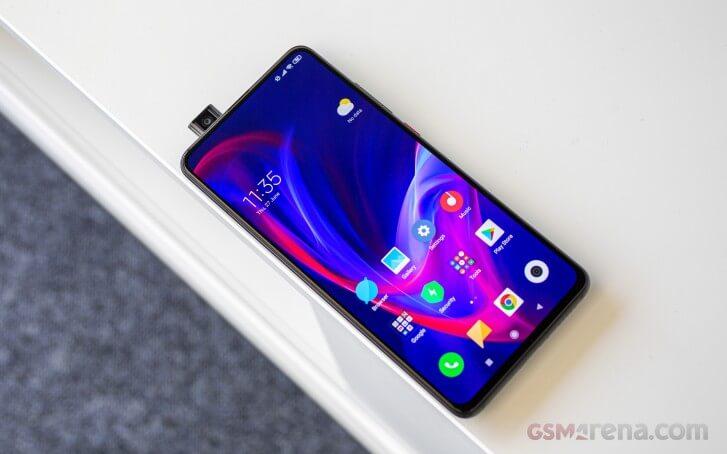 Xiaomi Mi 9T обзор экрана