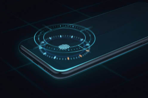 Xiaomi Mi A3 сканер отпечатка