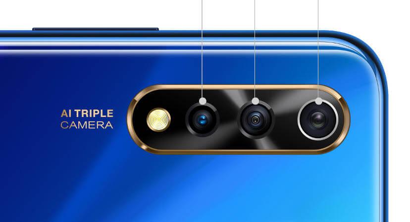 смартфон vivo Y7s характеристики камеры