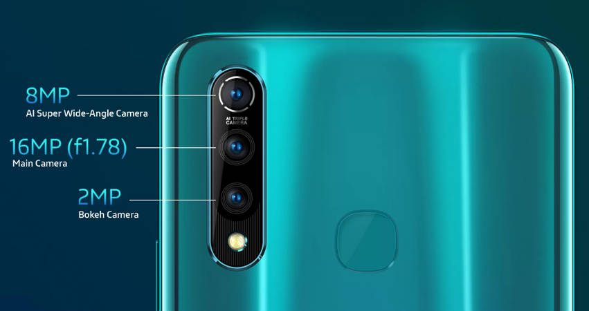 vivo Z1 Pro характеристики камеры