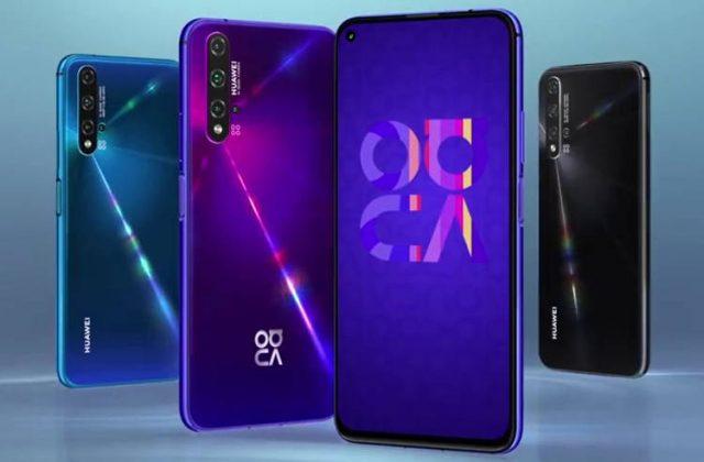 Huawei nova 5T характеристики и цена
