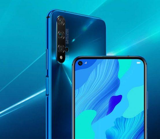 Huawei nova 5T характеристики камеры