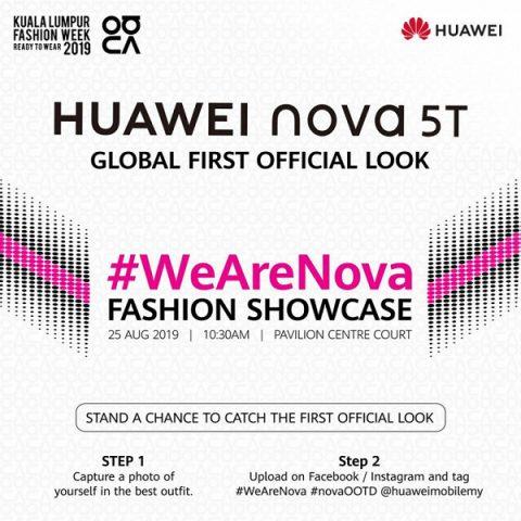 Huawei nova 5T представят 25 августа