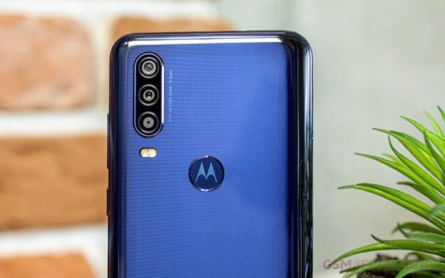 Motorola One Action камера