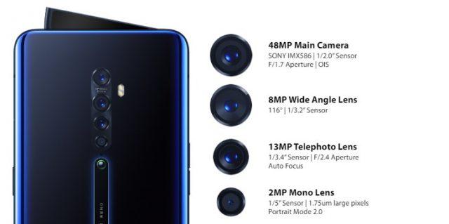Oppo Reno 2: характеристики камеры