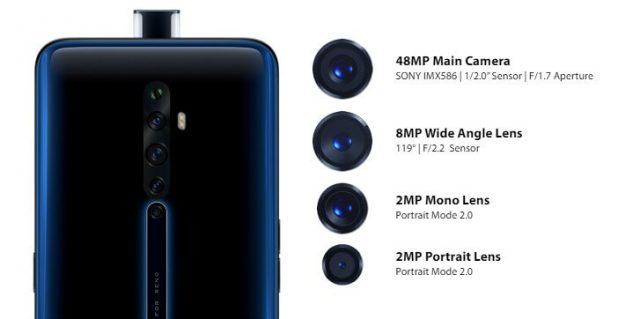 OPPO Reno 2Z характеристики камеры