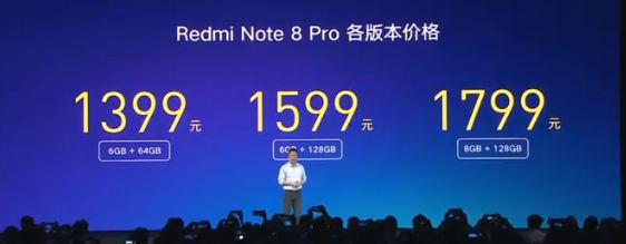 Redmi Note 8 Pro цена