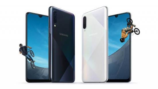 Представлены Samsung Galaxy A50s и Galaxy A30s