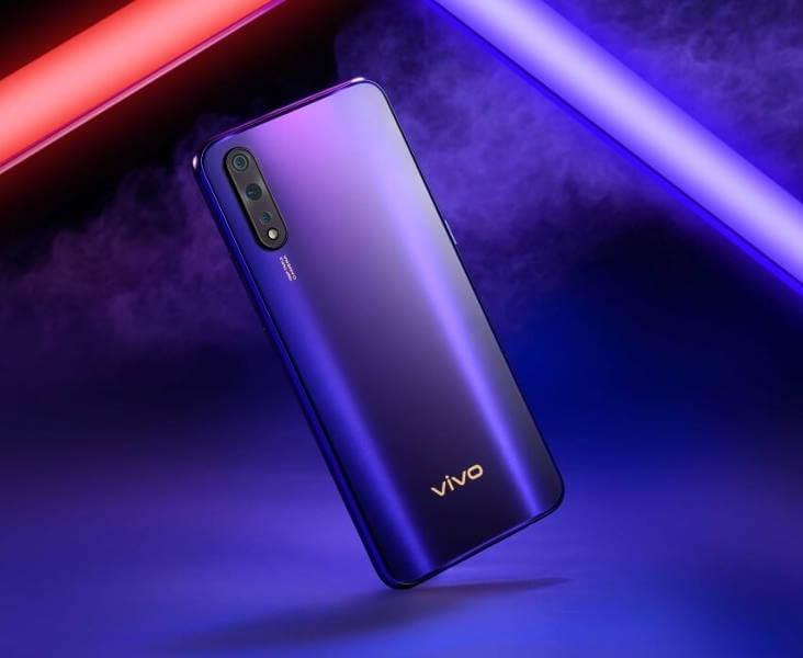 vivo Z5 смартфон с тройной основной камерой