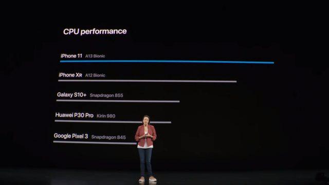процессор Apple A13 Bionic сравнение CPU