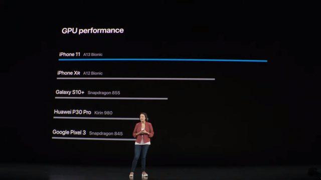 процессор Apple A13 Bionic сравнение со Snapdragon
