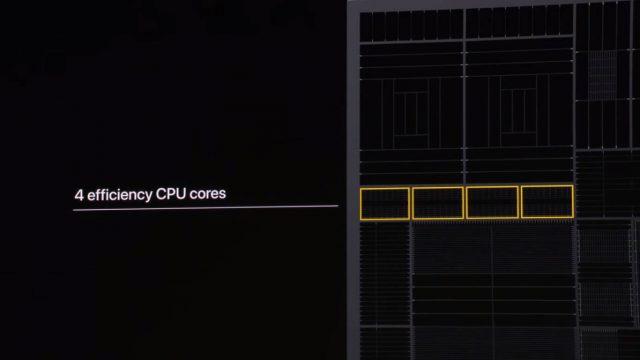Apple A13 процессор, ядра CPU