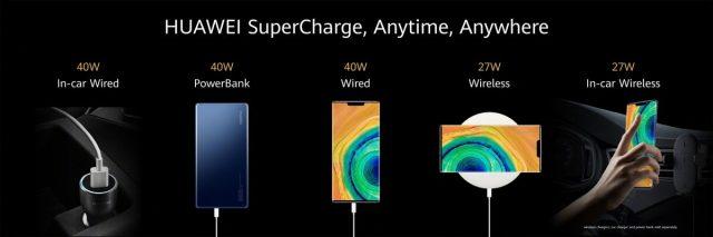 Huawei Mate 30 батарея