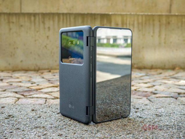 LG G8X ThinQ обзор новинки