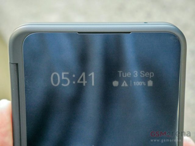 LG G8X ThinQ третий экран