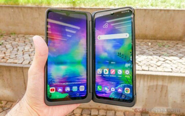 LG G8X экран