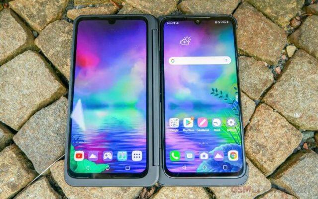 LG G8X двойной экран