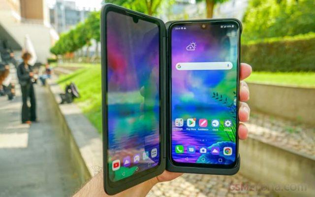 экран LG G8X обзор