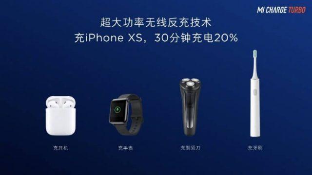 Mi Charge Turbo реверсивная беспроводная зарядка Xiaomi