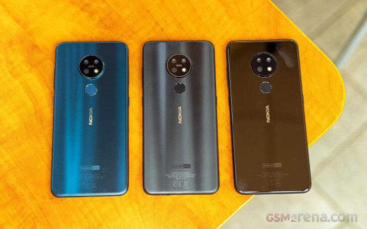 Nokia 7.2 камера