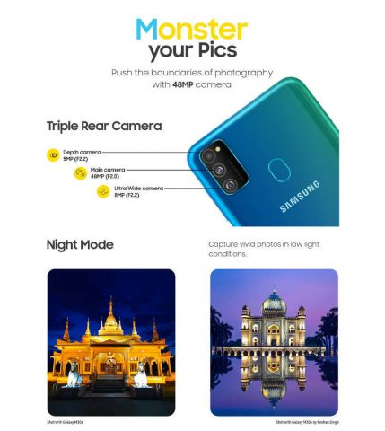 Камера Galaxy M30s характеристики