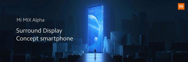 экран Xiaomi Mi Mix Alpha