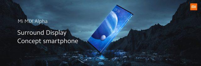 Xiaomi Mi Mix Alpha экран