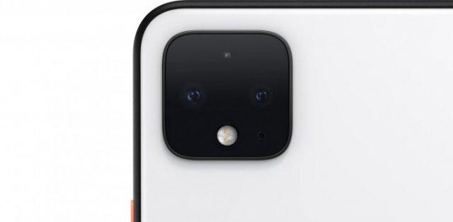 Google Pixel 4 характеристики камеры