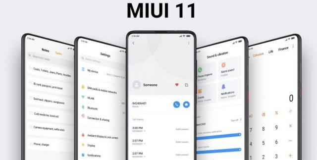 MIUI 11 дата выхода глобальной версии