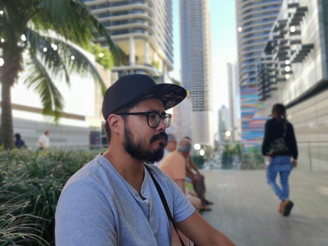 Камера OnePlus 7T портретный режим фото на главную камеру