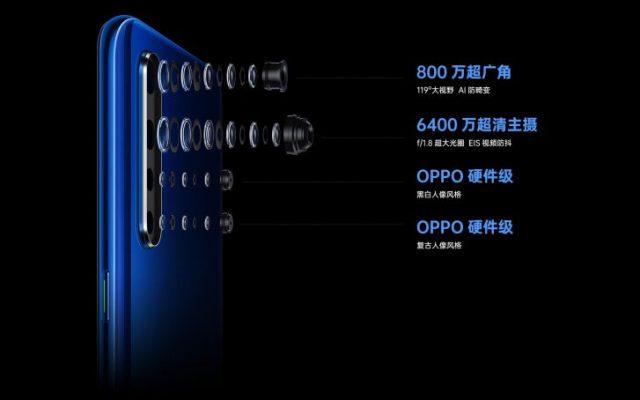 Oppo K5 характеристики камеры