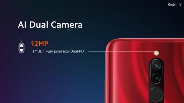 Redmi 8 характеристики камеры