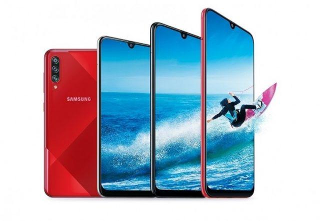Galaxy A70s из линейки Samsung Galaxy A
