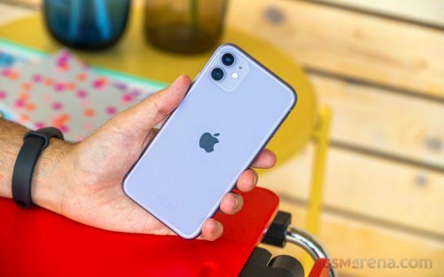 тест iPhone 11 процессор