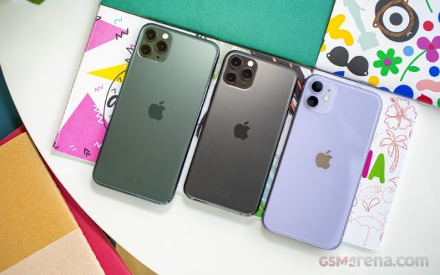батарея iPhone 11 сравнение с 11 Pro