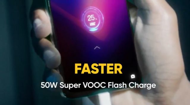 realme X2 Pro быстрая зарядка Super VOOC Flash Charge