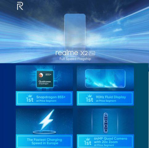 realme X2 Pro характеристики