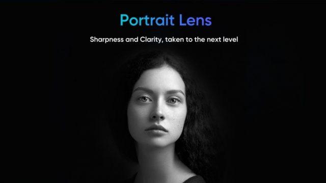 Камера Realme X2 Pro портретный режим