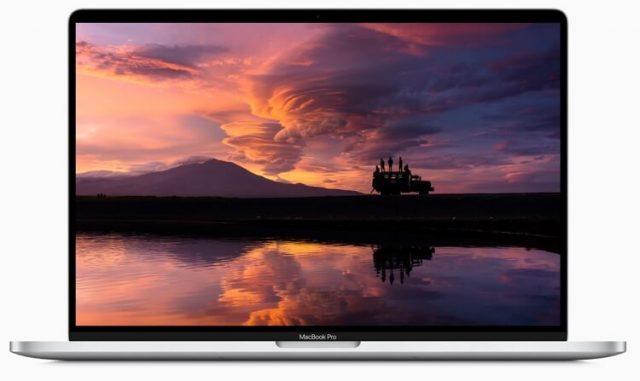 MacBook Pro 16 экран