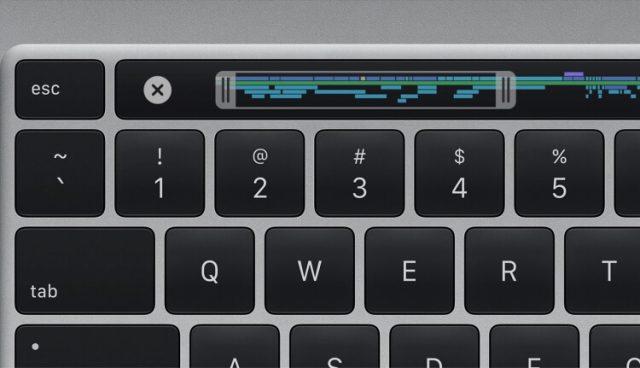 Apple MacBook Pro 16 клавиатура