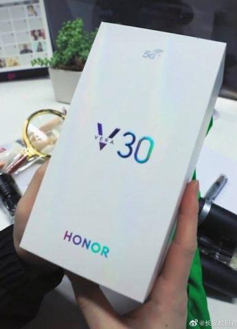 Honor V30 характеристик