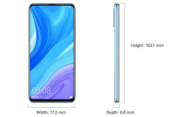 Huawei Y9s размеры