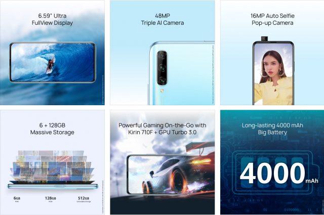 Huawei Y9s характеристики