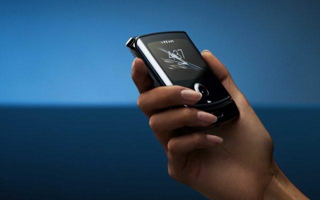 Motorola Razr экран