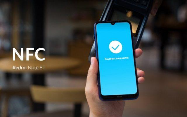 Redmi Note 8T смартфон с NFC