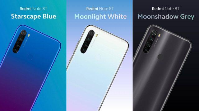 Redmi Note 8T дата выхода и цена