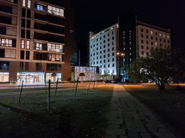 тест камеры Xiaomi Mi Note 10 ночная съемка