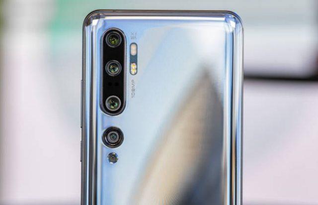 камера Xiaomi Mi Note 10