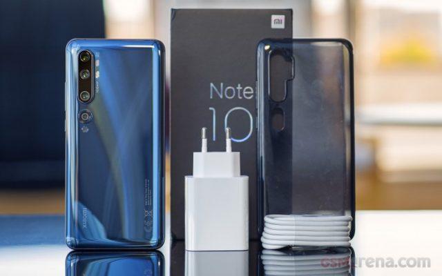 Mi Note 10 обзор и характеристики